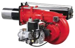 Двухступенчатые, модулирующие горелки от 406 до 1744 кВт