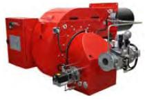 Прогрессивные и модулирующие горелки от 1392 до 17445 кВт