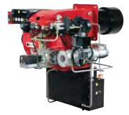 Прогрессивные, модулирующие горелки от 1044 до 17445 кВт