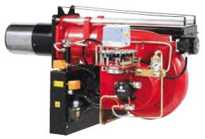 Прогрессивные и модулирующие горелки от 398 до 1705 кВт